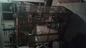 Bird cage with toys. 700$ OBO