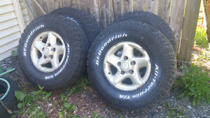 "4 16"" rims and tires"