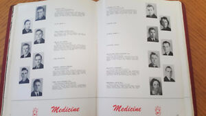 945 OLD MCGILL UNIVERSITY YEARBOOK West Island Greater Montréal image 3