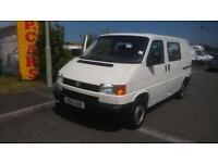 Volkswagen Transporter 1.9TD 1000kg SIDE WINDOWS/ 7-SEATS/ TAILGATE/ ORIGINAL