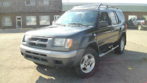 2001 Nissan Xterra 5 spd Manual  Safety/Warranty