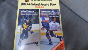 NHL guide/record book 1988-89(Gretzky/Lemieux cover)