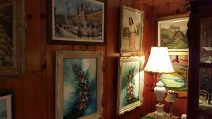 Vintage ART SALE Quality oil paintings various artists West Island Greater Montréal image 4