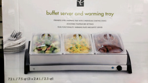 PC Buffet Server & Warming Tray
