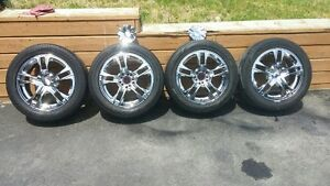 FAST CHROME 16 INCH RIMS with GOODYEAR 205 55 R16 $550OBO