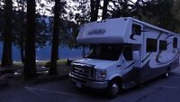 Explore BC beauty in a 31ft RV