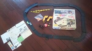 AFX Jackie Stewart high bank challenge, tested comes with 2 cars