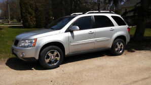 2009 Pontiac torrent (Lac du Bonnet)