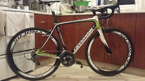 CANNONDALE SYNAPSE CARBON 54CM, RIVAL 22, Reynolds 46mm