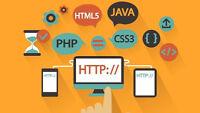 Web developer/Developeur web à votre service!