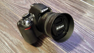 Nikon D3100 with 50mm 1.8 & Accessories