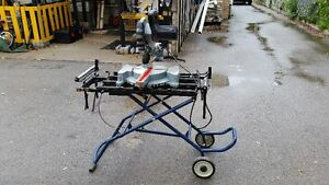 KING CANADA CHOP SAW WITH STAND London Ontario image 1