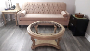 Like new 4 seater long custom sofa + 2 seater, only 3 years old