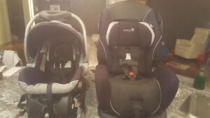 Safety First infant seat and toddler seat