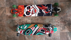 2 long boards