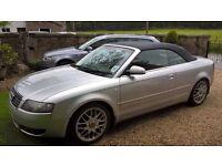 Audi A4 TDI Sport Convertible 2003