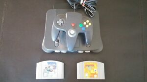 N64 with two games and controller Edmonton Edmonton Area image 1
