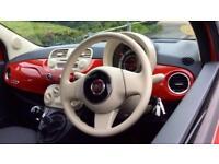 2015 Fiat 500 1.2 Pop (Start Stop) Manual Petrol Hatchback