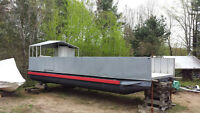 Custom Built Barge for Sale!