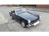 1975 MG Midget. MOT and Tax exempt. Long Mot. Wire and Chrome conversions