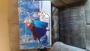 Frozen wall canvas with Anna and Elsa