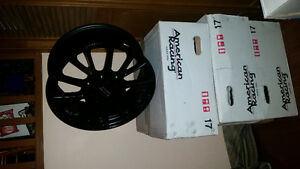 Brand new 17 inch AMERICAN RACING rims