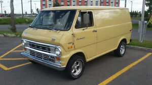"1974 Ford E100 from the movie "" The Walk"""