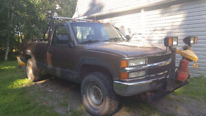 1994 Chevrolet with plow