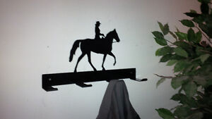 Horse tack rack or coat rack and other cool coat racks