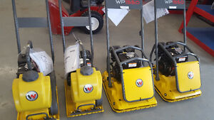 WACKER NEUSON PLATE TAMPERS FOR RENT AT READY TO RENT EQUIPMENT!