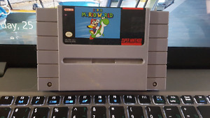 Super Mario world super nes