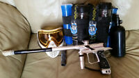 Paintball Gear and Gun