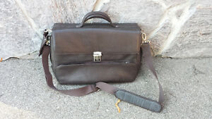 new leather brief case