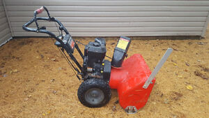Craftsman 24 Inch Snow Blower for Parts or Repair