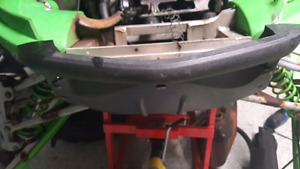 2002 arctic cat zr 800  front bumper and belly pan