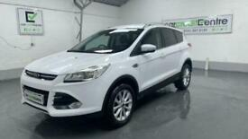 image for WHITE FORD KUGA 2.0 TITANIUM TDCI 5D 148 BHP DIESEL *BUY NOW FROM £54 PER WEEK*