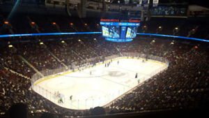 ** BELOW FACE VALUE ** Vancouver Canucks Tickets ** CORNER SEATS