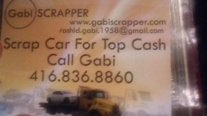 Scrap cars dead or alive 4 cash ,call gabi4168368860