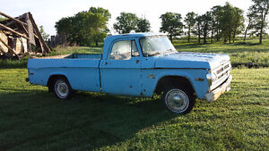 1970 Fargo 1/2 ton pickup - Project or rod potential