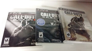 LOT DE JEUX PLAYSTATION 3  INJUSTICE ,CALL OF DUTY ECT
