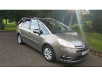 2008 new model citroen c4 grand picasso 7 seater excl hdi automatic