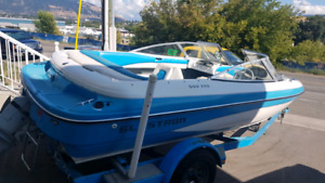 For sale 9 seats boat Glastron good for small family