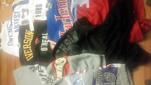 Assorted Basketball & Football Jerseys