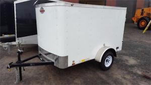 4'x6', 4'x8' or 5'x8' Enclosed Cargo trailer