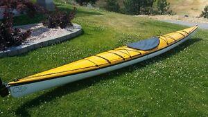 QCC Fiberglass 18 foot Sea Kayak