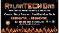 Atlantechgas Appliances, Maintenance & Servicing