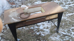 Table saw table