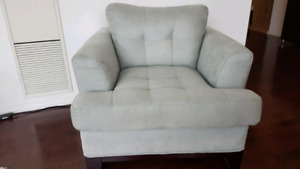 Cindy Crawford collection sofa and armchair