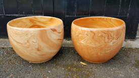Large Ceramic Planters - Terracotta/Spice
