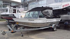 Alumaweld Stryker 19ft Welded Aluminum Fishing Boat 2007
